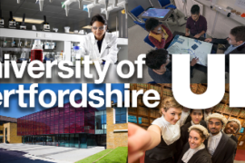 University of Hertfordshire Scholarship 2017/2018