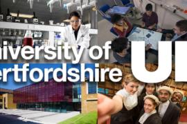 University of Hertfordshire Scholarship 2017/2018