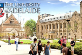 Adelaide Scholarships International (ASI) 2017/2018